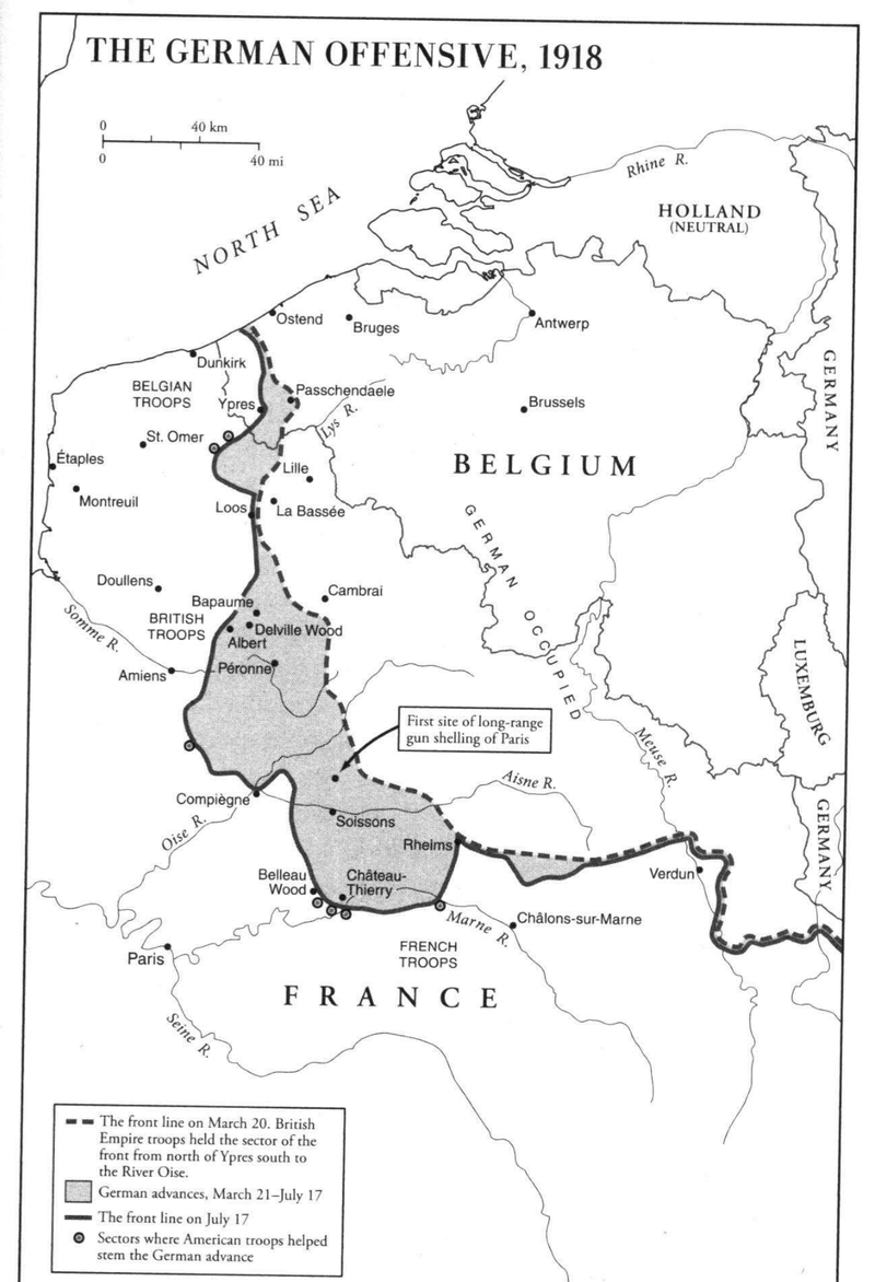 What if the United States Never Joined WW1? 191810