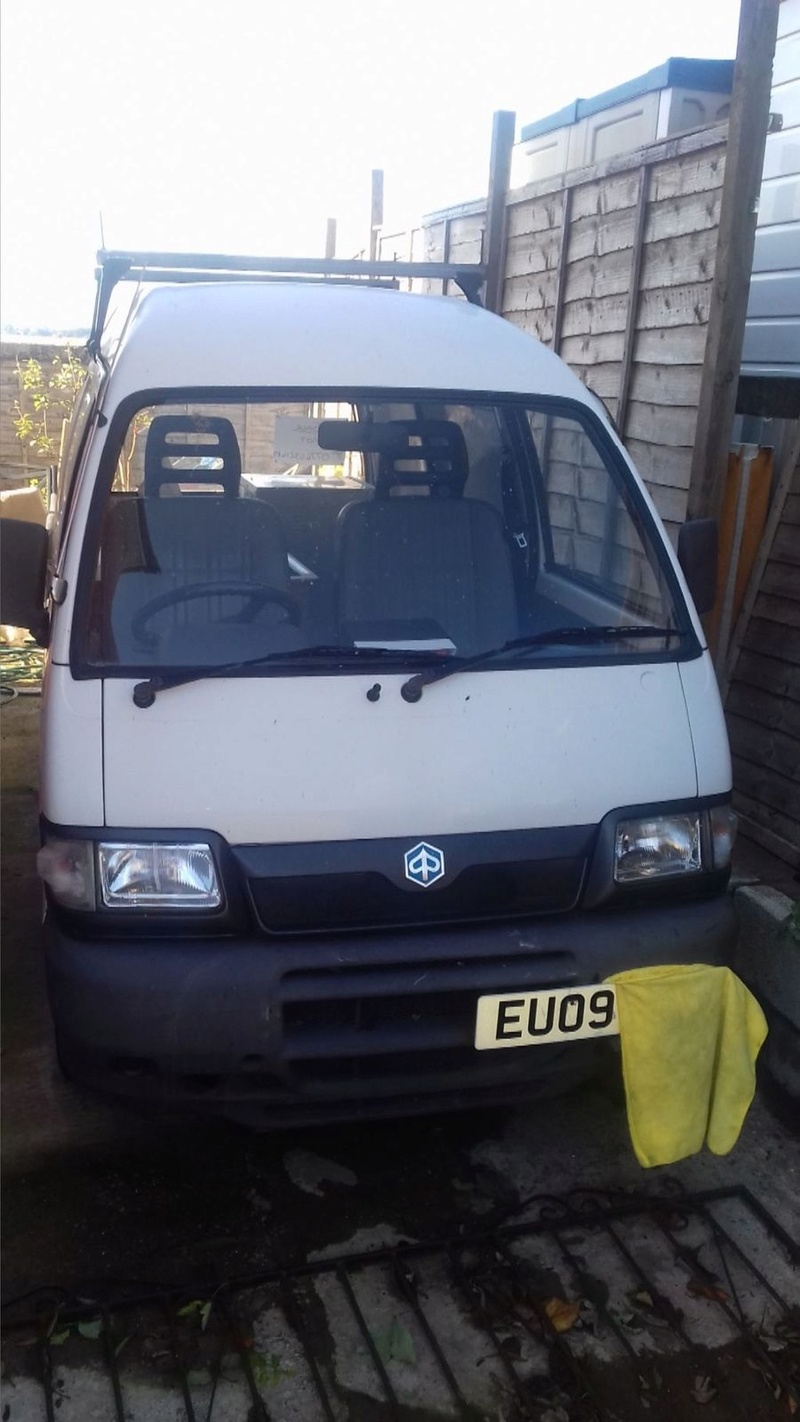 Took a punt on a cheap Piaggio Porter Pp110