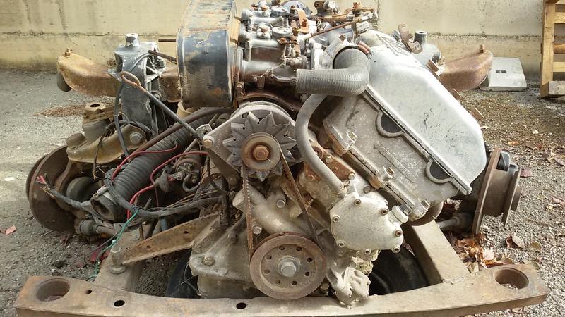 [VENDO - Orvieto (TR)] Motore Cambio e Ricambi Fulvia Coupè  20170912