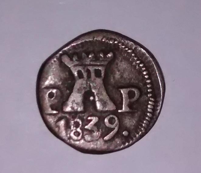1/4 Real. Argentina, Provincia de Cordoba. 1839 Img_2013