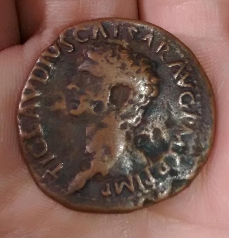 As de Claudio I. S C. Minerva avanzando a dcha. Ceca Roma. Img_2024