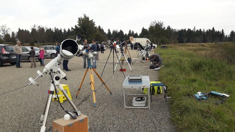 Nuit de l'astronomie au Champ du Feu le 23 septembre 2017 21949810
