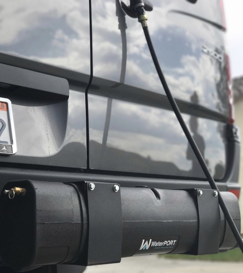 Vehicle Shower/rinse system Fullsi10