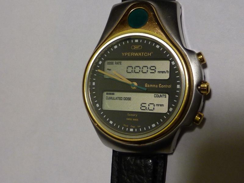 montre qui mesure la radioactivité Yperwa11