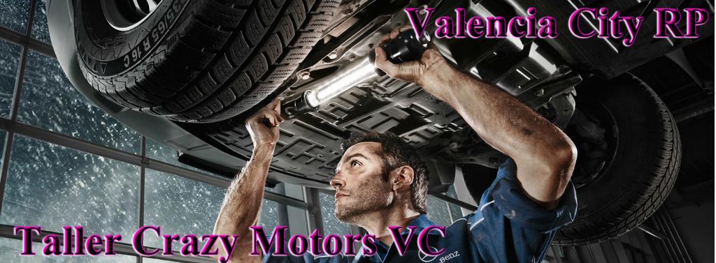 Taller Crazy Motors - Información General Banner11