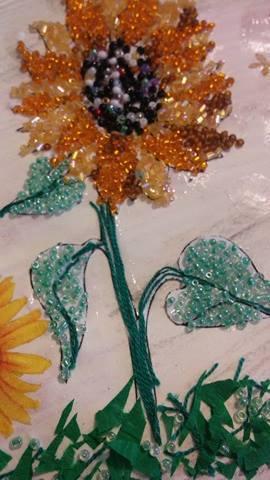"""Provocare Art Journaling septembrie: """"Floarea soarelui"""" - Maria Oprea Izsabe10"""