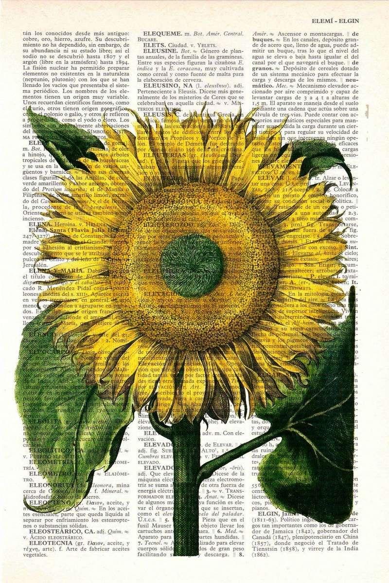"""Provocare Art Journaling septembrie: """"Floarea soarelui"""" - Maria Oprea Model11"""