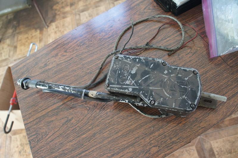 (VENDO) - Antena Elétrica Hirschmann Carcaça de Metal - R$ 250.00 Dsc06934