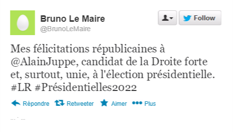 Bruno Le Maire Tweet10