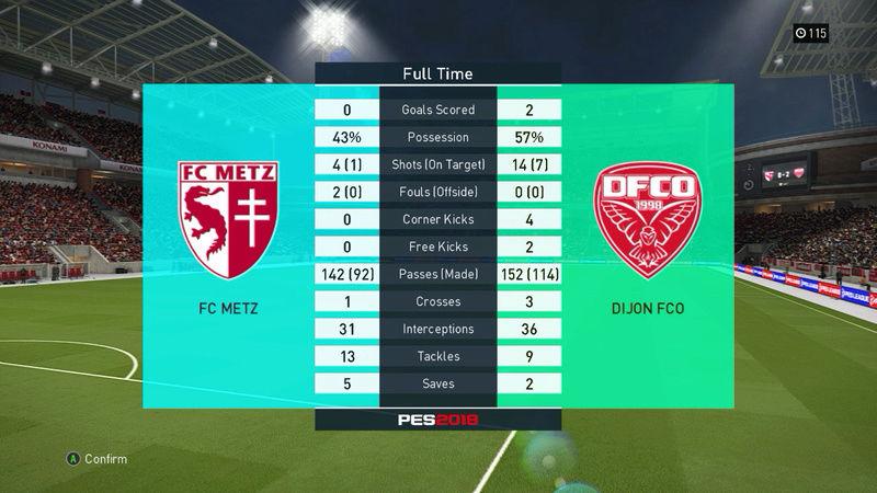 [PC] PES 2018 - Saison 1 Metzdi11