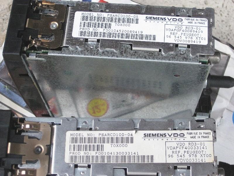 Autoradio: remplacement du lecteur CD Img_7811