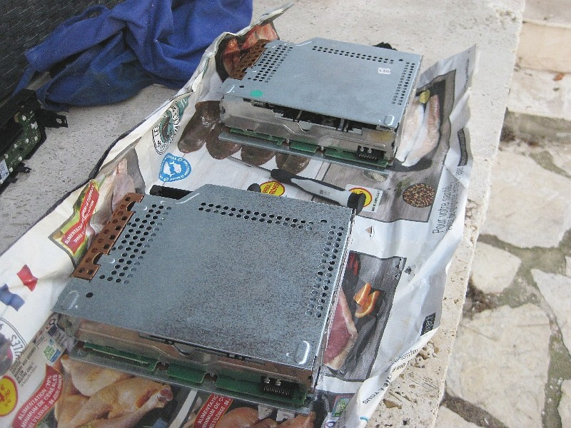 Autoradio: remplacement du lecteur CD Img_7813