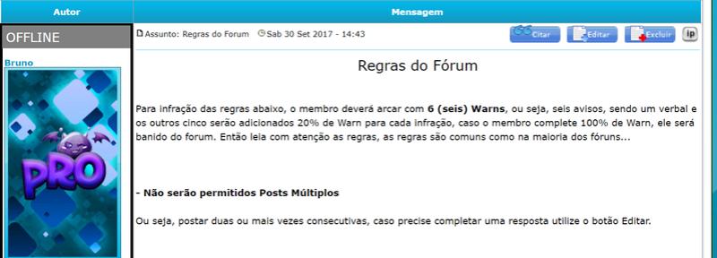 Botão Online/Offline Ag10