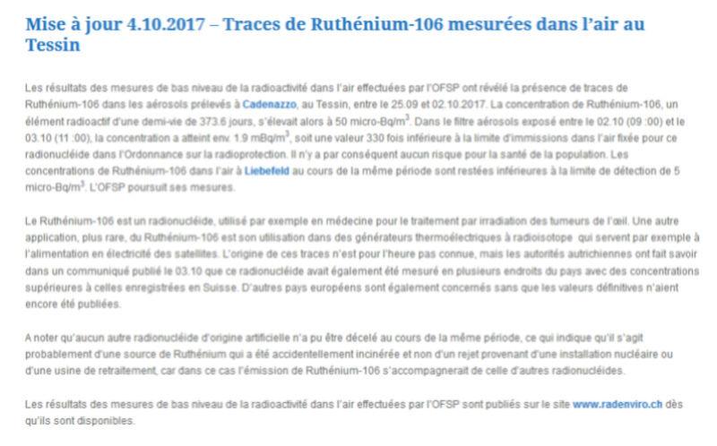Du ruthénium-106 dans l'air en Europe Captur10