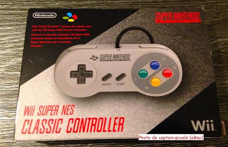 Manette SNES pour Wii - Club Nintendo S-l16010