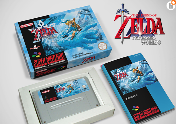 Mes réalisations, SNES: Zelda Parallel world Zelda_10