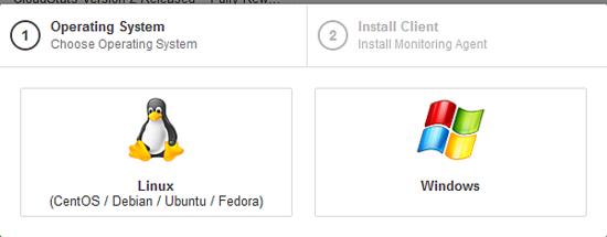 Monitorizar o servidor com o CloudStats 310