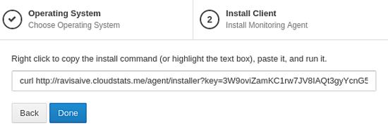 Monitorizar o servidor com o CloudStats 411
