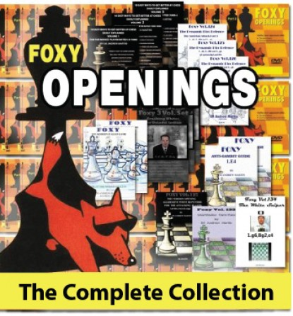 Foxy Chess Opening Collection worth $2000