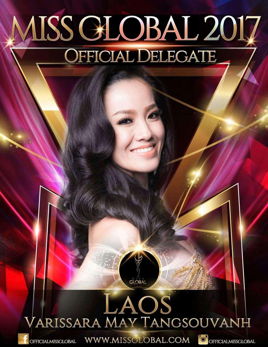 2017 | Miss Global |Laos | Varissara May Tangsouvanh 22135510