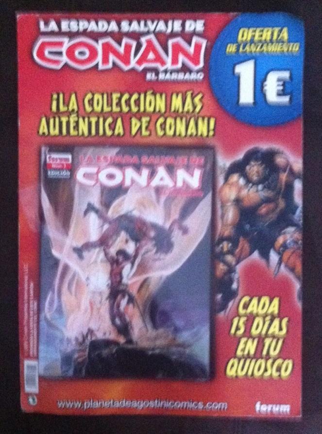 Spanish Conan Promotional Display Photo10