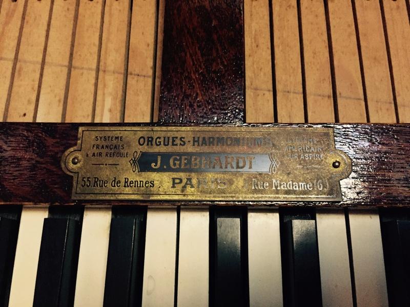 Harmonium pliant J.GEBHARDT 34f70b10