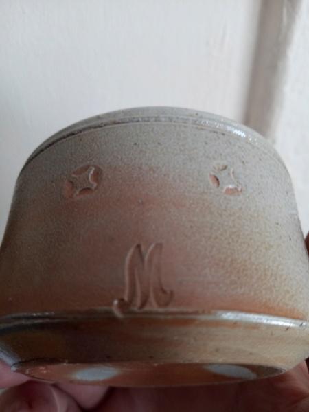 Salt glazed stoneware pot for ID Img_2065