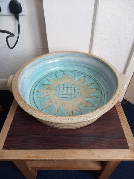Wood fired ? stoneware bowl Img_2172