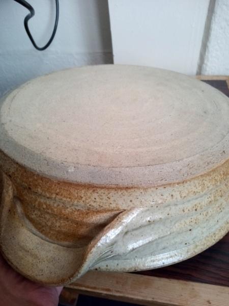Wood fired ? stoneware bowl Img_2173