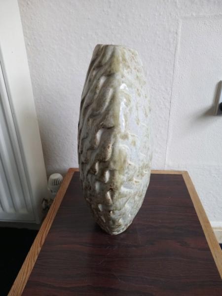 Large stoneware vase, AE mark  Img_2235