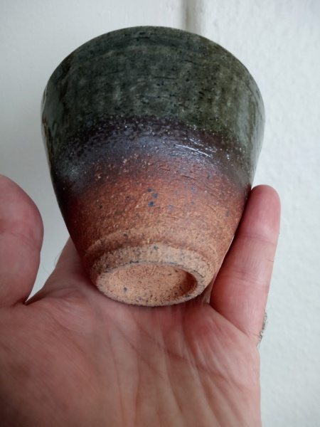 Earthenware cup for ID. Img_2397