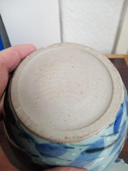 Lidded stoneware jar for ID - Paul Muchan?  Img_2437