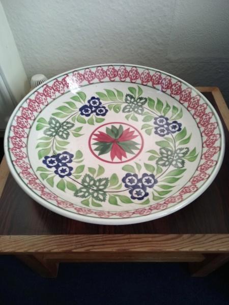 Sponge decorated bowl. Img_2510