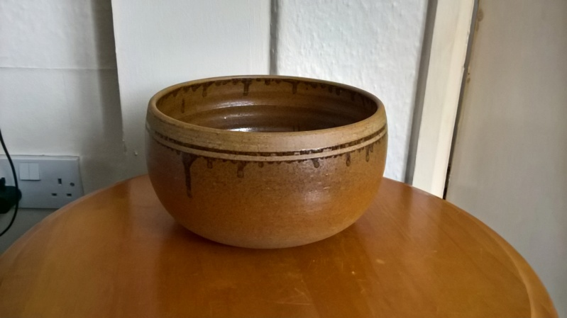Unsigned stoneware bowl. Can I rule out it being a Batterham ? Wp_20129