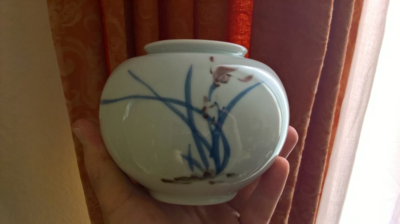Simplistic japanese vase. Tourist piece? Wp_20143