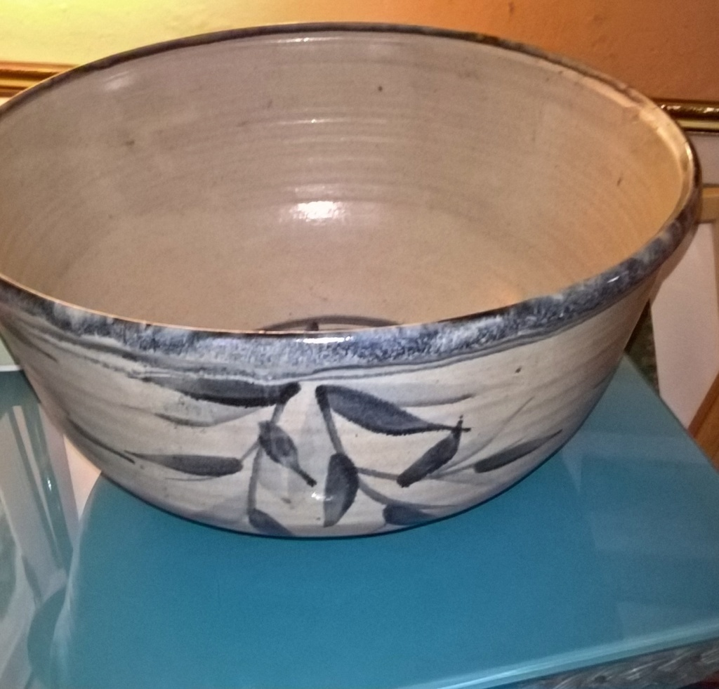 Stoneware bowl NG mark - Nigel Graham  Wp_20192