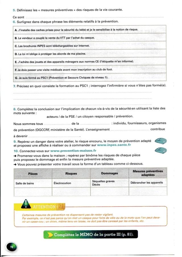 Thème 5 : Prévenir les risques de la vie courante Img02110