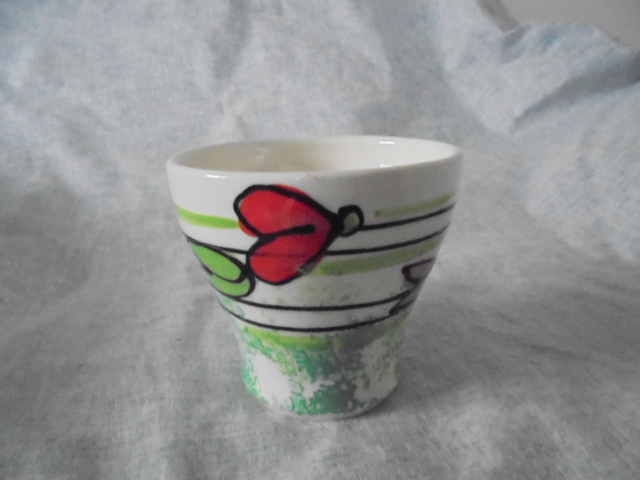 Renate Galetzka - Teacup with sweet peas Dsc03712