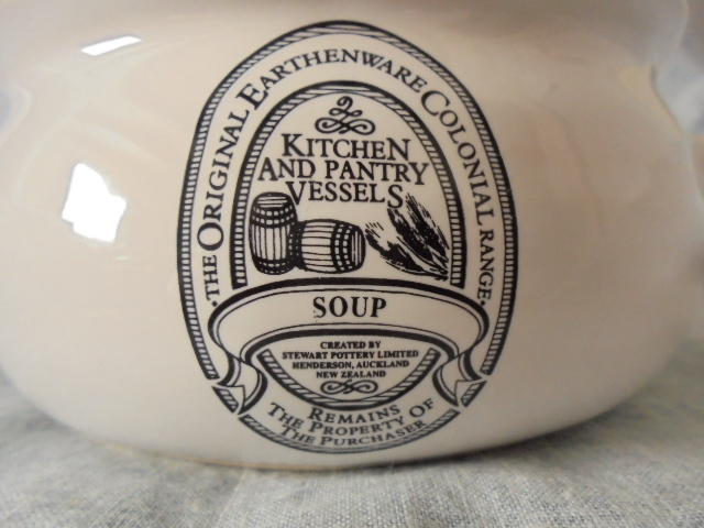 Stewart Potteries Ltd Colonial Range Coffee caddy Dsc04432
