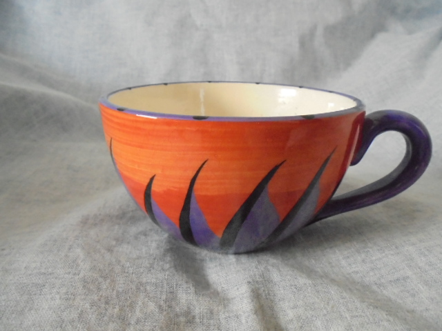 Catherine Anselmi - Orange and purple cup Dsc05013