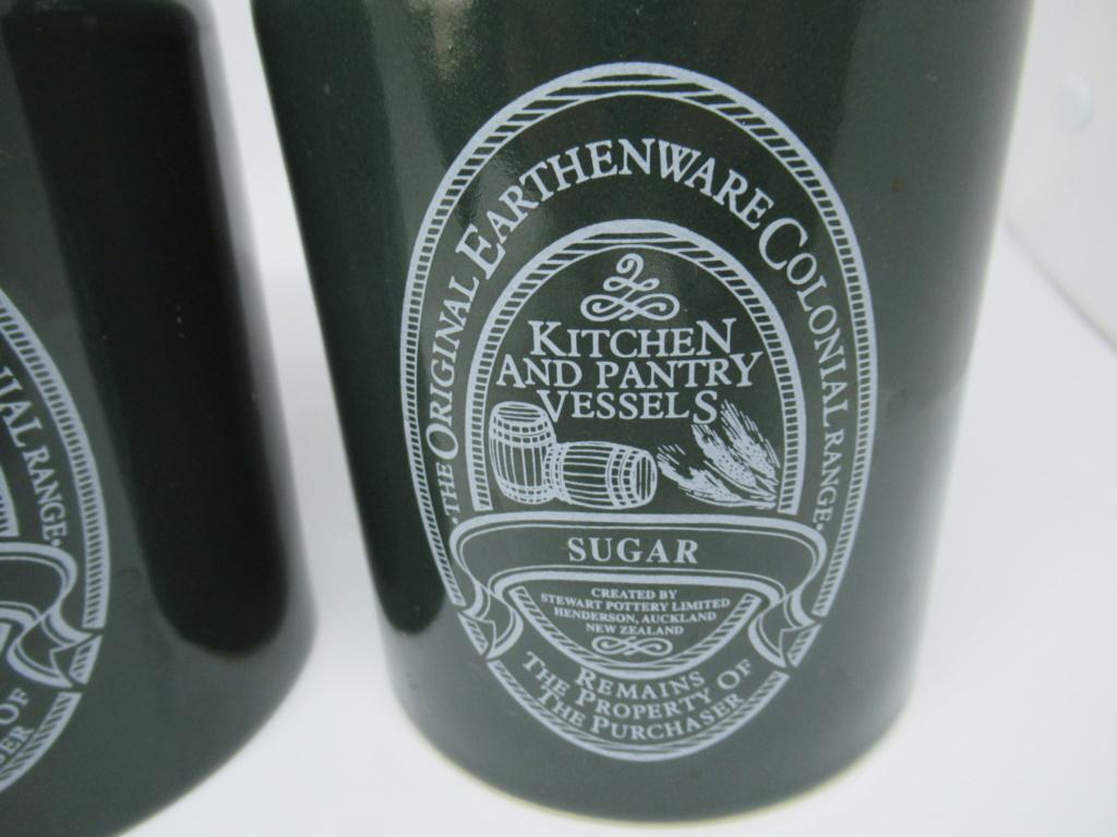 Stewart Potteries Ltd Colonial Range Coffee caddy Img_1514