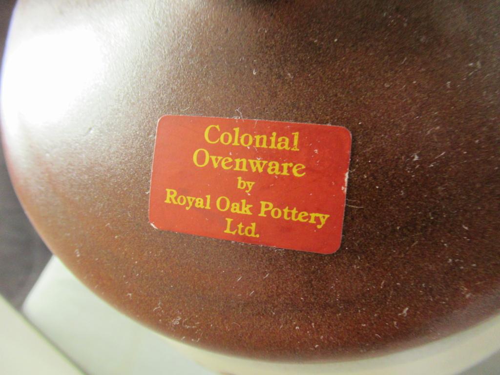 Royal Oak - Small bowl Img_2214