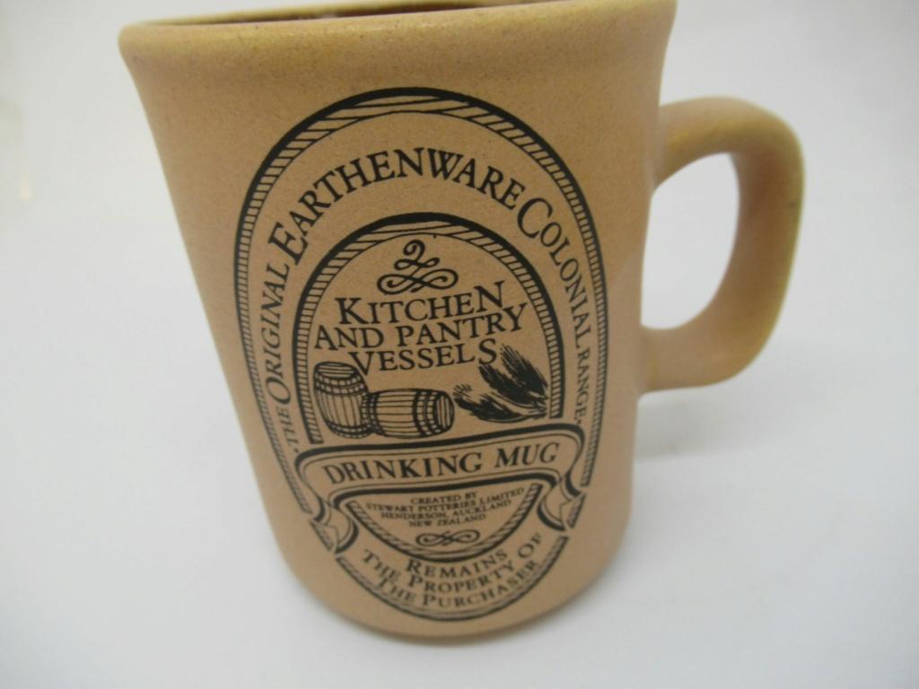 Stewart Potteries Ltd Colonial Range Coffee caddy Img_2220