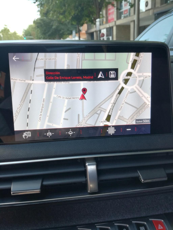 """Como guardar la POSICION ACTUAL del coche en """"Mis destinos"""" del navegador - Solucionado. Img_2034"""