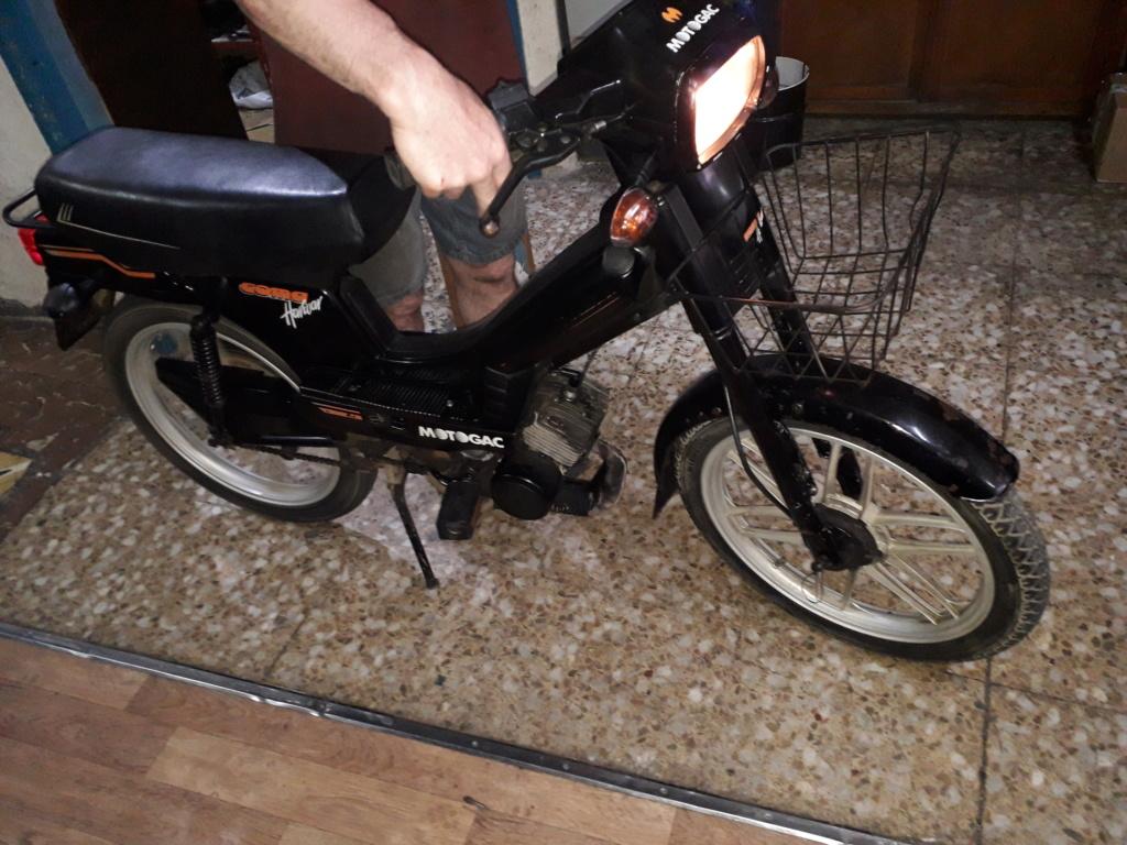 vendo Mobylette moto gac com harwar automatic electronic drive 20200637
