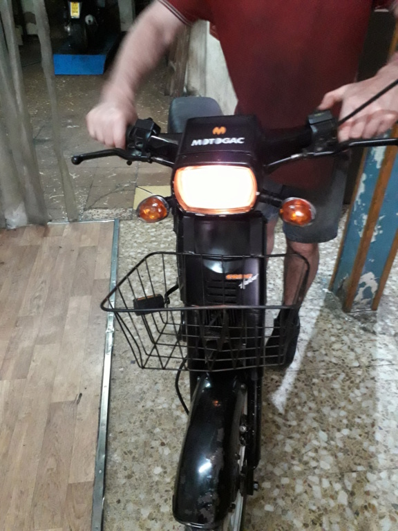 vendo Mobylette moto gac com harwar automatic electronic drive 20200638