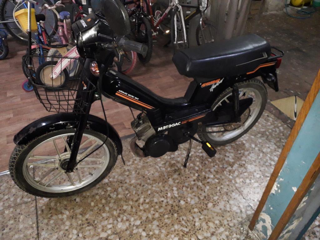 vendo Mobylette moto gac com harwar automatic electronic drive 20200641