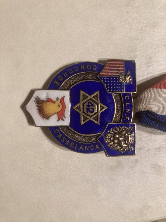 Médaille maçonnique Grande Loge Nationale Française C6ac2f10