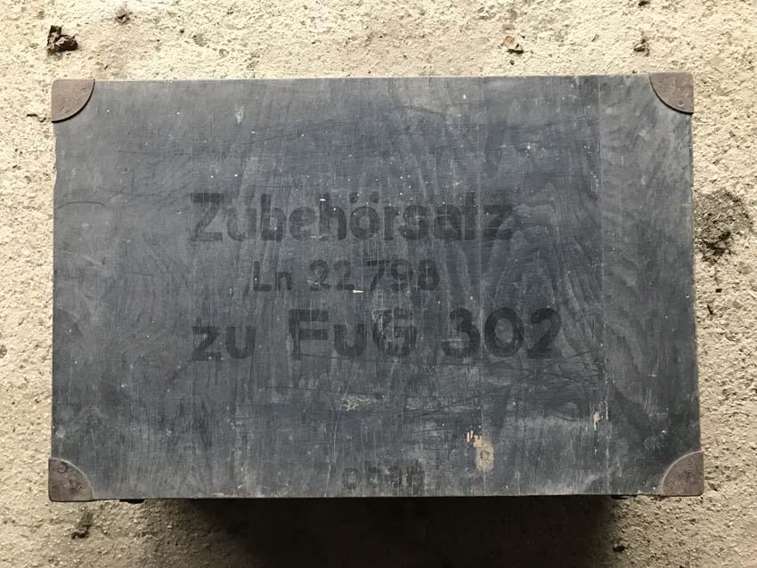 2 caisses allemandes WW2 - Munitions et Luftwaffe Caisse10