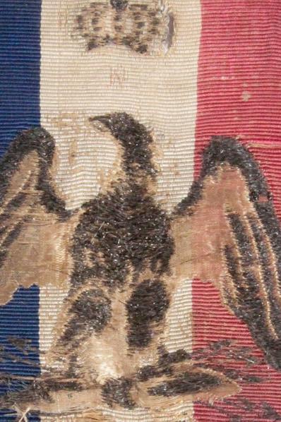 Ruban tricolore avec emblème Napoléon 1er  Canvas10